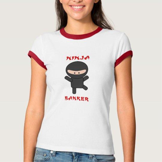 ninja banker T-Shirt