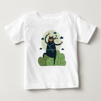 Ninja Bear in Action Baby T-Shirt