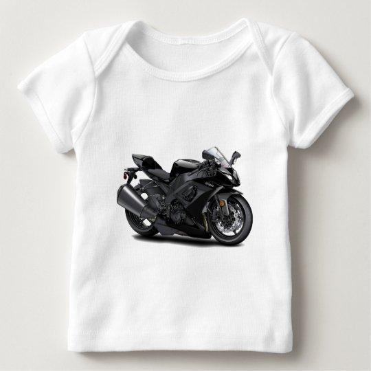 Ninja Black Bike Baby T-Shirt