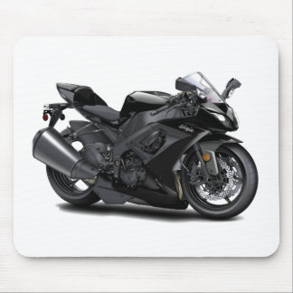 Ninja Black Bike Mouse Pad