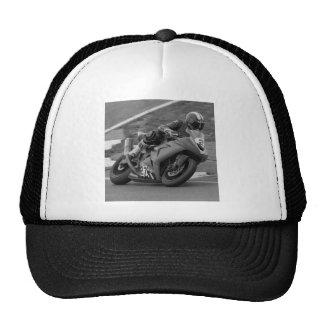 Ninja blanco y negro gorra