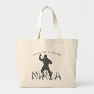 ninja bolsa tela grande