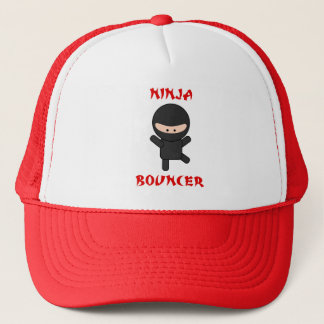 ninja bouncer trucker hat