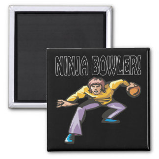 Ninja Bowler Magnet