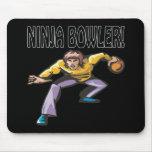 Ninja Bowler Mouse Pad