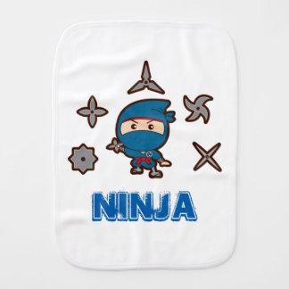 Ninja Boy Baby Burp Cloth