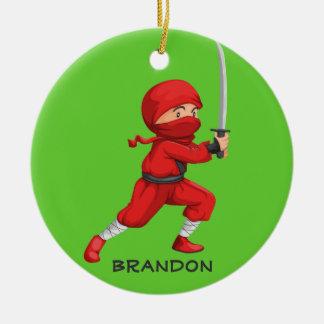 Ninja Boy  Design Ornament