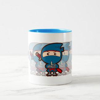 Ninja Boy Two-Tone Coffee Mug
