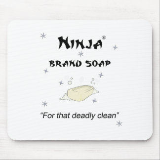 Ninja Brand Soap - for that deadly clean Mouse Pad