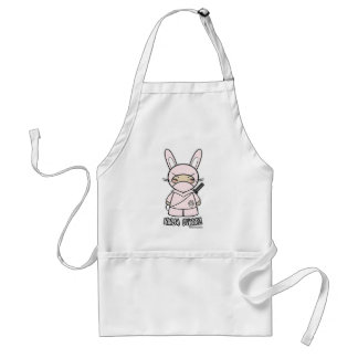Ninja Bunny! Apron