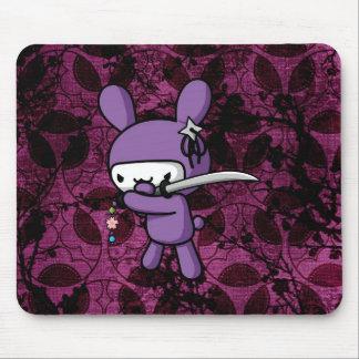 Ninja Bunny Mouse Pad