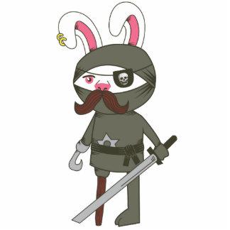 Ninja Bunny Photo Cutouts