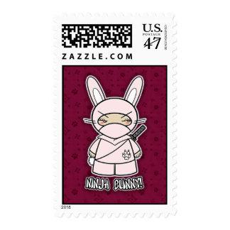 Ninja Bunny! Postage Stamp