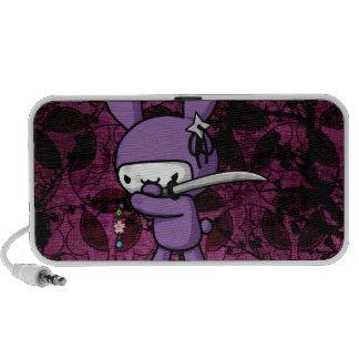 Ninja Bunny Travel Speaker