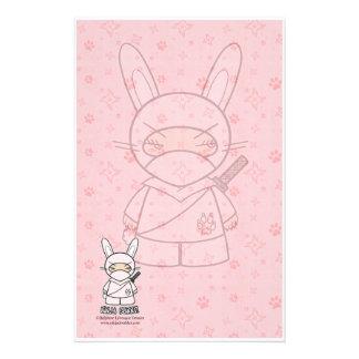 Ninja Bunny! Stationery