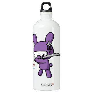 Ninja Bunny Water Bottle