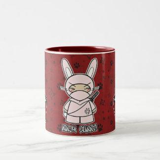Ninja Bunny! With Rice Bowl Mug