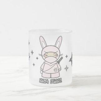 Ninja Bunny With Shurikens Mug