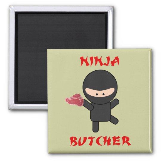ninja butcher with steak magnet