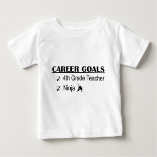 Ninja Career Goals - 4th Grade Baby T-Shirt