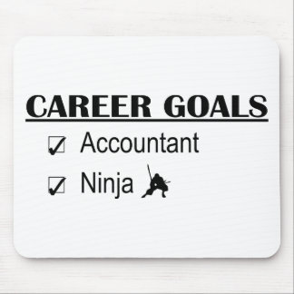 Ninja Career Goals - Accountant Mouse Pad