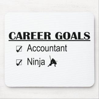 Ninja Career Goals - Accountant Mouse Mats