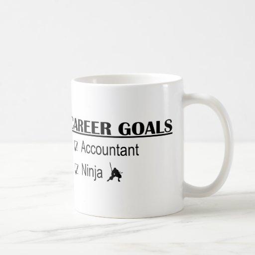 Ninja Career Goals - Accountant Classic White Coffee Mug