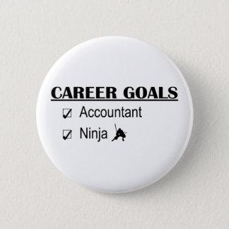 Ninja Career Goals - Accountant Pinback Button