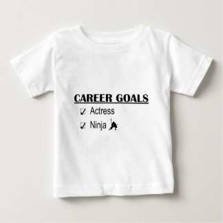 Ninja Career Goals - Actress Baby T-Shirt
