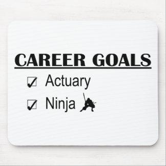 Ninja Career Goals - Actuary Mouse Pad