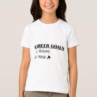 Ninja Career Goals - Actuary T-Shirt