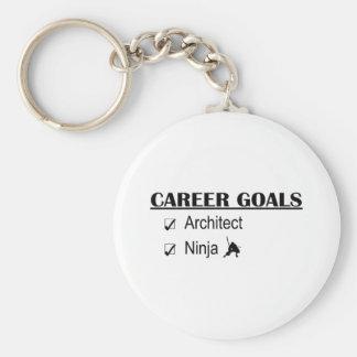 Ninja Career Goals - Architect Key Chains