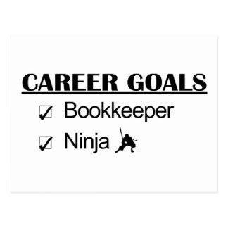 Ninja Career Goals - Bookkeeper Postcard