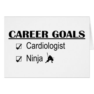 Ninja Career Goals - Cardiologist Card