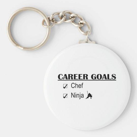 Ninja Career Goals - Chef Keychain
