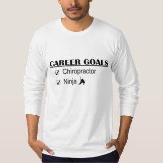 Ninja Career Goals - Chiropractor T-shirt