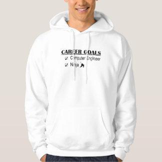 Ninja Career Goals - Computer Engineer Hooded Sweatshirt