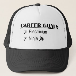 Ninja Career Goals - Electrician Trucker Hat