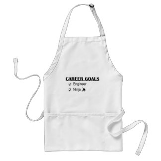Ninja Career Goals - Engineer Adult Apron