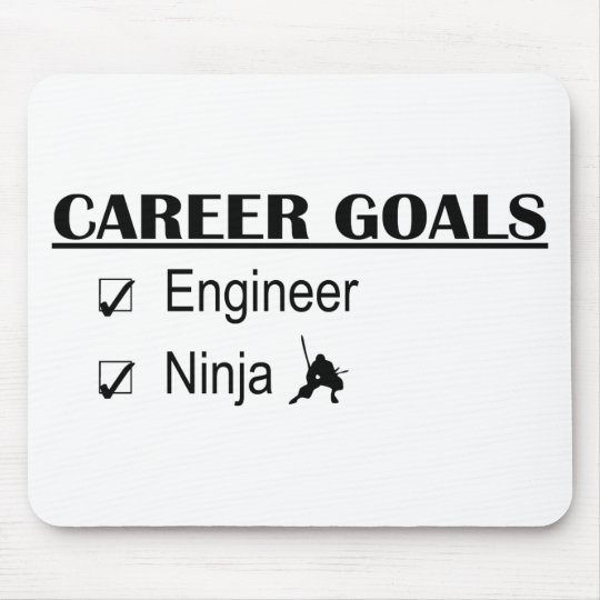 Ninja Career Goals - Engineer Mouse Pad