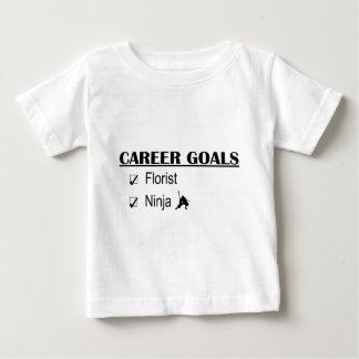 Ninja Career Goals - Florist Tee Shirt