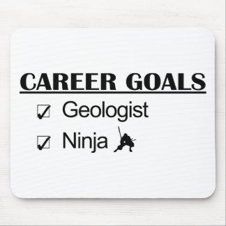 Ninja Career Goals - Geologist Mouse Pad