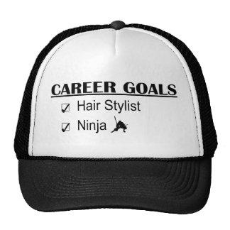 Ninja Career Goals - Hair Stylist Hats