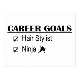 Ninja Career Goals - Hair Stylist Postcard