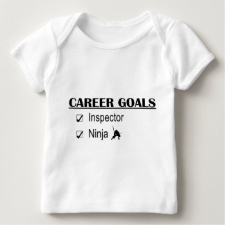 Ninja Career Goals - Inspector Baby T-Shirt