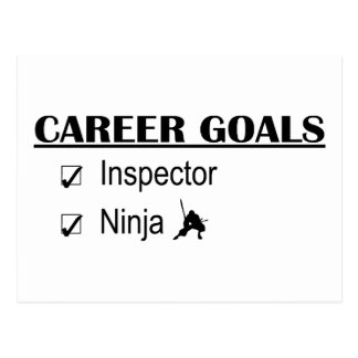 Ninja Career Goals - Inspector Postcard