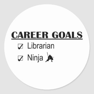 Ninja Career Goals - Librarian Stickers