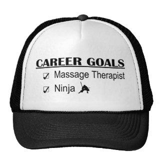Ninja Career Goals - Massage Therapist Hats