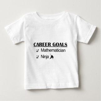 Ninja Career Goals - Mathematician T Shirt