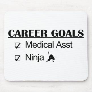 Ninja Career Goals - Medical Asst Mouse Pad